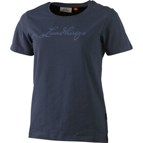 Lundhags T-Shirt Damen deep blue